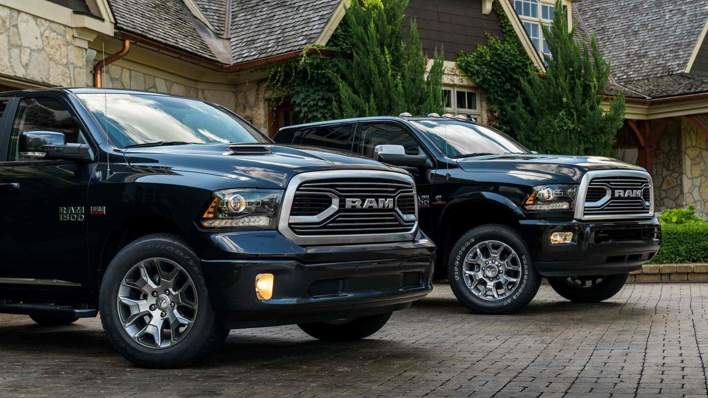 ram limited tungsten pickup trucks lead with power and class. Black Bedroom Furniture Sets. Home Design Ideas